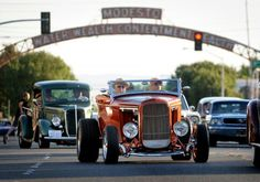 Annual Modesto Graffiti Festival and car show event. Modesto is also the city of Water Wealth and Contentment Health.