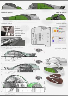 Views and Sections by ThEiUfO on DeviantArt Biomimicry Architecture, Public Architecture, Architecture Design, Concept Board Architecture, Planer, Deviantart, Building, Terminal, Island Resort