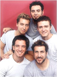 #NSYNC - Here's to my 90's girls!!!!
