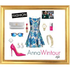 """Anna Wintour"" by lenkafen on Polyvore"