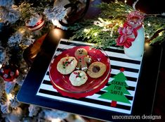 This year use this sweet Cookies for Santa Free Printable Placemat. So cute and your kids will love this tradition!