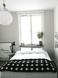 Slaapkamer ideeën van stylist Annie Lindgren