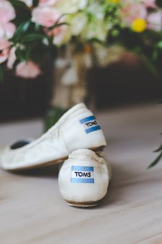 Toms Wedding Shoes // Melissa Harms Photography