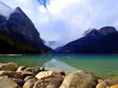 Lake Louise Emerald water, Canada