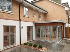 small flat roof rear extension - Google Search