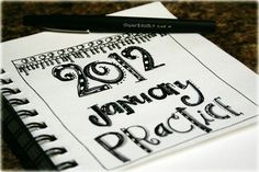 2012 January practice