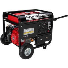 The DuroStar 10000 Watts Hp Gas Generator is a portable power source you can rely on. Not only can it get you through natural disasters, but it's. Electric Start Generator, Gas Powered Generator, Power Generator, Quiet Portable Generator, Survival Skills, Survival Guide, Tool Kit, Outdoor Power Equipment, Ebay