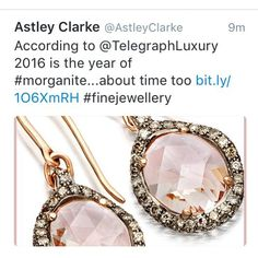My engagement ring is morganite diamond & rose gold! @astleyclarke so pleased I was ahead of the trend! #astleyclarke #morganite #diamond #rosegold #morganiteengagementring #morganitering #engagement #engagementring #yearofmorganite #pantone #pantonecoloroftheyear #pantonecolouroftheyear #londonblog #londonblogger #weddingblog #weddingblogger #devinebride