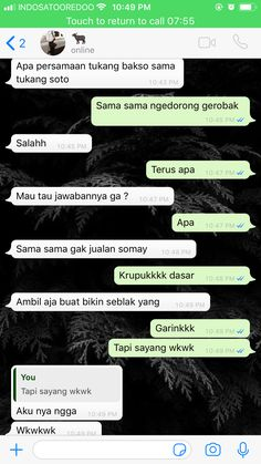 Tabok se kampung yu Quotes Rindu, Quotes Lucu, Message Quotes, Mood Quotes, Life Quotes, Cute Relationship Texts, Boyfriend Goals Relationships, Text Pranks, Funny Chat