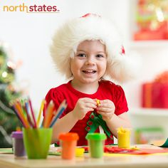 Craft time! The holidays are a wonderful opportunity for making crafts and memories with your little one! Try the homemade ornament ideas on our Pinterest board: https://www.pinterest.com/northstatesbaby/family-holiday/