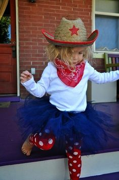 Cowgirl Tutu Halloween Costume-I do live in Texas after all. Cowgirl Tutu Halloween Costume-I do live in Texas after all. Traje Cowgirl, Cowgirl Tutu, Cowgirl Party, Kids Cowgirl Costume, Farmer Girl Costume, Cowgirl Boots, Cowgirl Birthday, 2nd Birthday, Kids Fashion