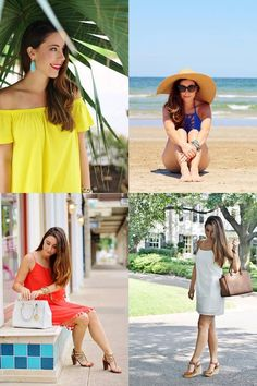 Best of Fashion Over Fatigue year 1:  Colorful summertime looks
