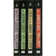 Anita Blake, Vampire Hunter Set (Books 1-4). I got this box set to start me off, and now have the whole series (which is still going at 21 books)