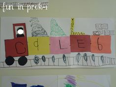 Fun in PreK-1: Transportation Take One: Lovin' the Land Theme {and some Friday Freebies!}