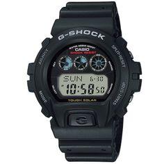 CASIO G-Shock G-6900-1 Solar Powered Standard Digital Casio G-shock, Casio Watch, High End Watches, Watches For Men, G Shock Watches Mens, G Shock Solar, Solar Power, Atomic Watch, Mens Digital Watches