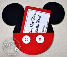 Cute Idea- Mickey Party