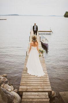 Lake Simcoe Cottage Wedding                                                                                                                                                                                 More