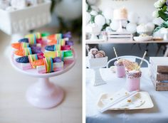 Pop Roc Parties | Unicorn Party | Coco's 3rd Birthday 2016 | Unicorn Party Table Setting | Nadine Canestri Photography