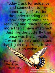 Inner Wings ~ Alignment Affirmations https://www.facebook.com/AlignmentAffirmations