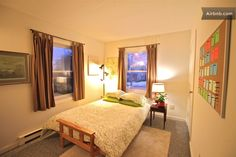 airbnb.com. If you are ever in Burlington, VT and need a place to stay, check this out! Burlington by the Lake and Downtown in Burlington from $70 per night