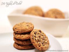 Cookies con gocce di cioccolato, ricetta americana | Ho Voglia di Dolce