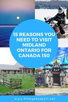 Are you looking to escape the fast pace of the city of Toronto? If so, you should go to Midland Ontario in Canada. We will tell you 15 reasons to visit Midland including its beautiful views and relaxing atmosphere. We will also tell you 15 things to do in Midland while you're there. Come see why we love Midland so much and what we recommend you do during your stay. #midland #ontario #canada
