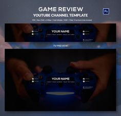 Game Review YouTube Channel Banner