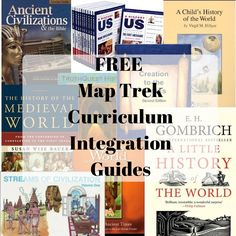 Wondering how to use Map Trek with your history curriculum? Check out our list of free curriculum integration guides! They'll make your life so much easier. : )