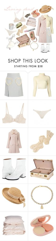 """""""Su-Barbie-a//Electra Heart (housewife)"""" by katherinechristiana99 ❤ liked on Polyvore featuring Meadham Kirchhoff, The Row, L'Agent By Agent Provocateur, Miss Selfridge, Margaret Howell, Viktor & Rolf, Globe-Trotter, Helen Kaminski, Chanel and Aiayu"""