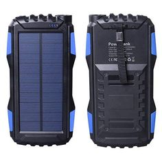 Top 10 Best Solar Power Banks in 2020 - Buyinghack Solar Panel Kits, Solar Panels For Home, Solar Panel System, Panel Systems, Landscaping Around Deck, Backyard Landscaping, Landscaping Ideas, Solar Battery Charger, Ipad