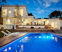 47 glen shian lane mt eliza white timber contemporary house pool stone 1950s renovation beautiful