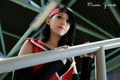 Sarada Uchiha from Boruto by @MisaiYuuki.    #Sarada #saradacosplay #Boruto #borutocosplay #saradauchiha #cosplay #Narutocosplay #Uchiha #uchihacosplay