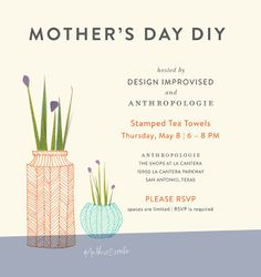 Anthropologie Mother's Day Event with Design Improvised!