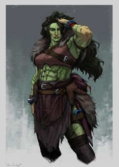 [OC] Orianna Tev half orc circle of the moon druid - Your Daily Dose of Amazing beautiful Creativity and Digital Art - Fantasy Characters: Archers Assassins Astronauts Boners Knights Lovers Mythology Nobles Scholars Soldiers Warriors Witches Wizards Dungeons And Dragons Characters, Dnd Characters, Fantasy Characters, Female Characters, Dnd Orc, Dnd Druid, Female Character Design, Character Drawing, Character Design Inspiration