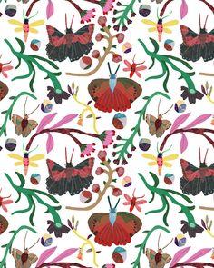 Butterflies Monika Forsberg- Walkyland