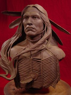 Wind In His Hair Clay Sculpture  You Can Do It 2. http://www.zazzle.com/posters?rf=238594074174686702