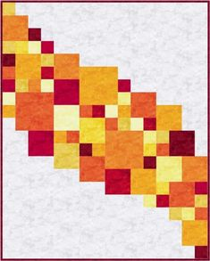 Name: Quilting : Central Square: A Modern Quilt Design - DIY Project Idea Quilting Projects, Quilting Designs, Quilt Design, Longarm Quilting, Quilting Fabric, Quilting Patterns, Machine Quilting, Quilting Ideas, Scrappy Quilts