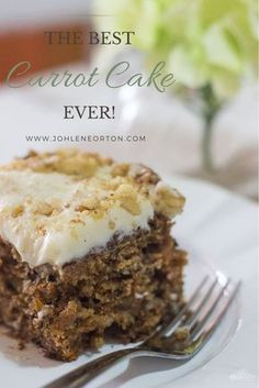 Guys this is seriously the BEST CARROT CAKE ever!!!
