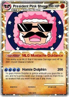 Pokemon President Pink Sheep