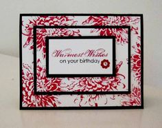 Double Layer Stamping by brandycox - Cards and Paper Crafts at Splitcoaststampers
