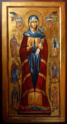 Byzantine Icons, Orthodox Icons, Blessed Mother, Religious Art, Science And Nature, Saints, Prayers, Tempera, Painting