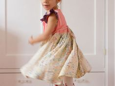 8 Easy Dress Patterns for Girls - Craftfoxes