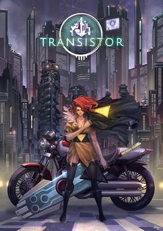 Transistor Fanart by Inhoo _ on ArtStation.