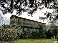 Horreo. Pazo de Lourizan (Pontevedra). Galicia. Spain.