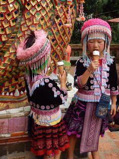 """Dégustation de glace à Chiang Mai - Carnet de voyage """"Circuit en Thaïlande"""""""