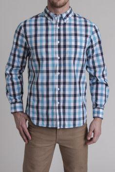 Gingham Yarn Dye Fancy Shirt