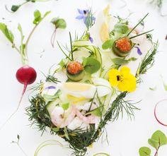 New Nordic Food - Swedish Savory layer cake Nordic Diet, New Nordic, Nordic Style, Nordic Recipe, Modernist Cuisine, Nordic Kitchen, Scandinavian Food, Sandwich Cake, Food Trends