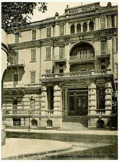 Front Entrance Of Savoy Hotel - Cairo In 1905 Pyramids Egypt, Cairo Egypt, Yosemite National Park, National Parks, Central Park Manhattan, Savoy Hotel, Old Egypt, Honeymoon Places, Mystery Of History