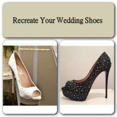 Recreate your wedding shoe at the Leather Spa NYC