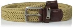 Tommy Bahama Mens Cotton Webbed Belt Khaki Small >>> Want to know more, click on the image.